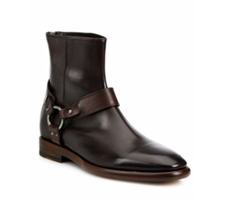 Frye  - Wright Harness Leather Boots