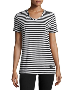 Burberry Brit - Short-Sleeve Striped Tee
