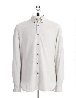 JOHN VARVATOS U.S.A.  - Striped Sport Shirt