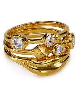 Diane Von Furstenberg - Cubic Zirconia Stackable Rings