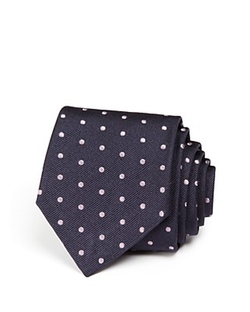 Paul Smith - Polka Dot Naked Lady Skinny Tie