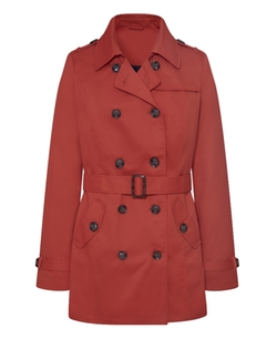 SimplyBe - Double Breasted Mac Length Trench Coat