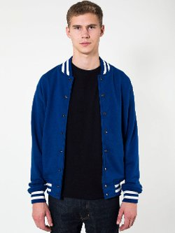 American Apparel - Heavy Terry Club Jacket