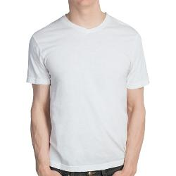 Reed Edward  - Slubbed V-Neck T-Shirt