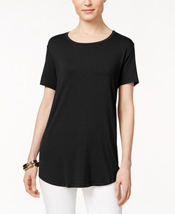 JM Collection  - Short-Sleeve Top