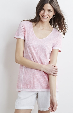 J.Jill - Sun-Bleached Slub T-Shirt