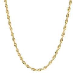 Target - Hollow Rope Chain Necklace