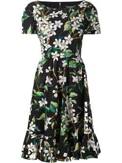 Dolce & Gabbana - Floral Print Dress