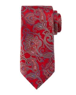 Ermenegildo Zegna - Allover Paisley Tie