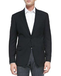 Armani Collezioni   - Basic Wool Two-Button Jacket