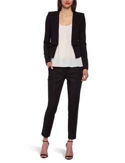 BCBGMAXAZRIA  - Pen Relaxed-Fit Blazer