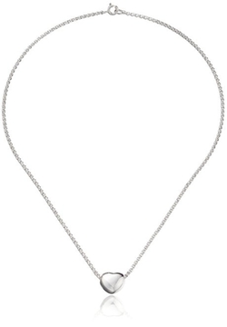 Zina Sterling Silver - Small Heart Pendant Necklace