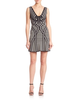 Herve Leger  - Milana Jacquard Dress