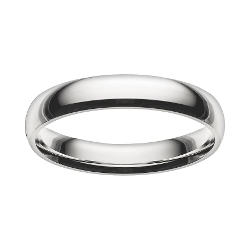 Cherish Always  - Stainless Steel Wedding Band Ring