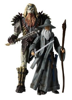 The Bridge Direct - Bolg And Gandalf Battle Deluxe Adventure Pack