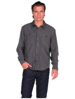 CHEAP MONDAY  - Kirchiro Flannel Button Down Shirt