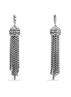 David Yurman - Tassel Earrings with Diamonds