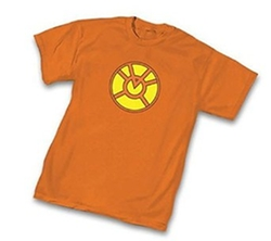 Green Lantern - Orange Lantern Corps Symbol Orange T-Shirt
