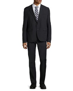Just Cavalli - Two-Button Merino Wool Suit