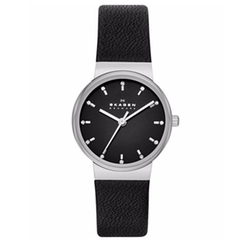 Skagen - Ancher Leather Strap Watch