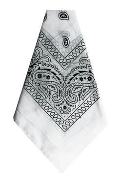 Paper Impression - White Bandana