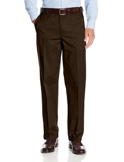 Geoffrey Beene - Cotton Chino Flat Front Extender Pant