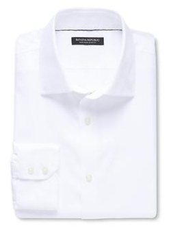 Banana-Republic - Non-Iron Solid Shirt
