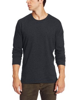 Calvin Klein Jeans - Long Sleeve Crew Neck Jersey with Rib