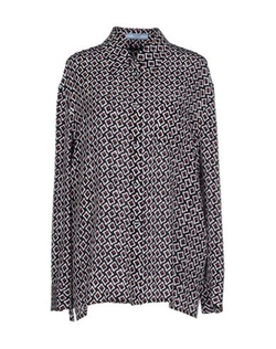 Prada - Patterned Button Down Shirt