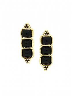 House Of Harlow 1960  - Sugarloaf Bar Earrings