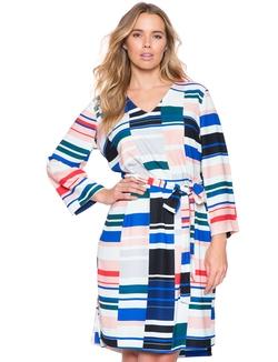 Eloquii - Tie Waist Tunic Dress