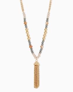 Carolina Tassel Necklace - Carolina Tassel Necklace