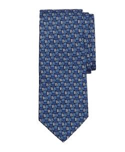 Brooks Brothers - Tonal Brooks Brothers Print Tie