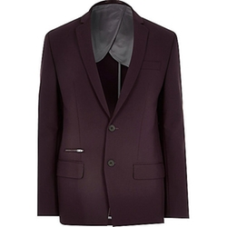 River Island - Skinny Suit Jacket