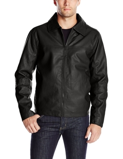 Sportier - Faux Leather Jacket