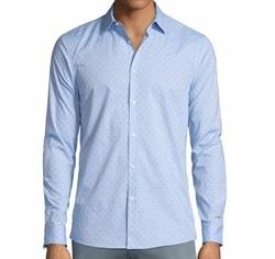 Michael Kors - Dot-Print Sport Shirt