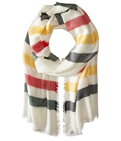 Pendleton  - Stripe Featherweight Wool Scarf