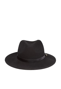 Forever 21 - Faux Leather Band Fedora Hat