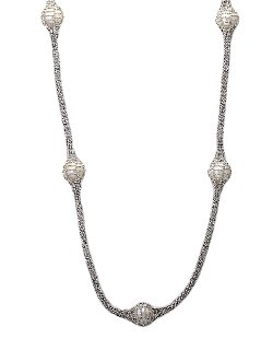 Effy  - Pearl Sterling Silver Necklace