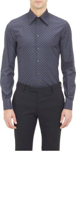 Dolce & Gabanna - Polka-Dot Dress Shirt