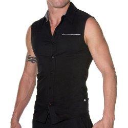 Andrew Christian  - Lean Sculpt Sleeveless Shirt
