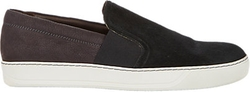 Lanvin  - Two-Tone Slip-On Sneakers