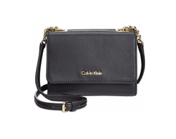 Calvin Klein - Pebble Leather Mini Crossbody Bag