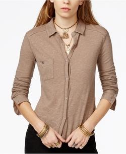 Free People - Caroline Button-Down Shirt