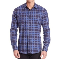Robert Graham - Plaid Cotton Shirt