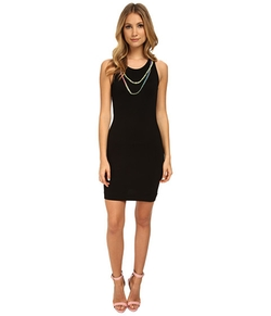 Love Moschino - Beaded Scoopneck Bodycon Dress