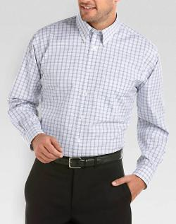 Joseph & Feiss - Check Button-Down Collar Sport Shirt