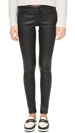 AG - Skinny Leather Pants