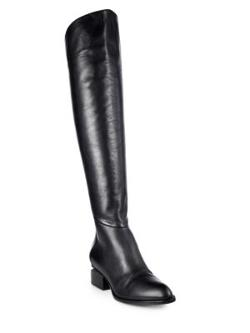 Alexander Wang  - Sigrid Leather Over-The-Knee Boots