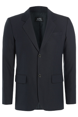 A.P.C - Wool-Cotton Slim Blazer